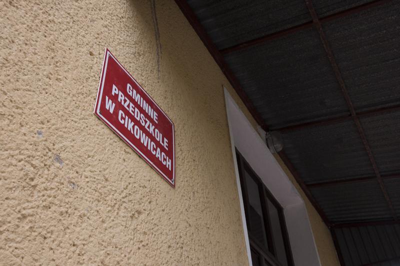 Przedszkole w Cikowicach - budynek